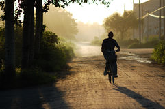 Ciclistas Imagen de archivo libre de regalías