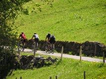 Ciclistas #2 Foto de archivo