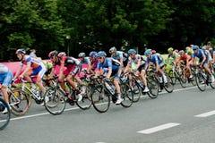 Ciclistas Imagem de Stock