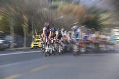 Ciclistas Fotografía de archivo libre de regalías
