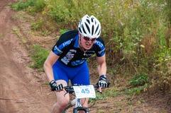 Ciclistas da competição Foto de Stock