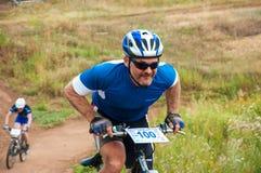Ciclistas da competição Foto de Stock Royalty Free