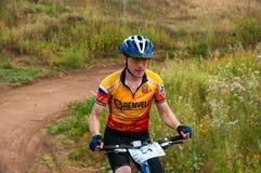 Ciclistas da competição Imagem de Stock