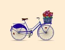 Ciclistas do passado recente Foto de Stock Royalty Free