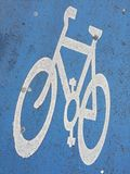 Ciclistas nas ruas de Inglaterra Foto de Stock
