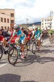 Ciclistas que competem no Giro D'Italia 2014 Imagem de Stock