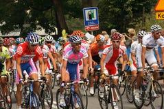 Ciclisti Fotografia Stock
