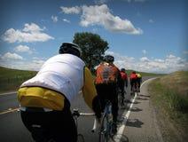 Ciclisti Fotografie Stock Libere da Diritti