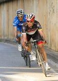 Ciclisti Fotografie Stock