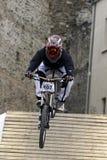 Ciclisti in mountain-bike Fotografie Stock Libere da Diritti