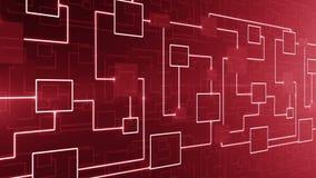 CICLO astratto del fondo del circuito elettronico di tecnologia illustrazione di stock