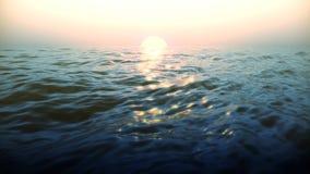 Ciclo brillante delle onde