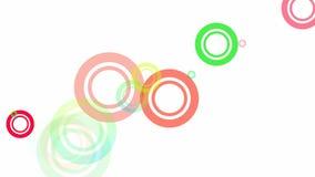 Ciclo casuale dei cerchi royalty illustrazione gratis