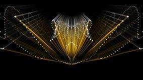 Ciclo completo Nektar Digital di HD VJ video d archivio
