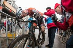Ciclo-cross della coppa del Mondo di UCI - Hoogerheide, Paesi Bassi Fotografia Stock