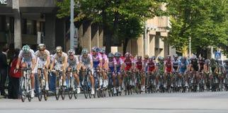 Ciclo: dâItalia del centenario - 2009 del giro Fotografía de archivo