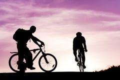 Ciclo de la gente Imagenes de archivo
