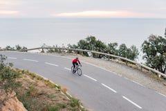 Ciclo de la madrugada Foto de archivo libre de regalías