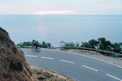 Ciclo de la madrugada Fotografía de archivo libre de regalías