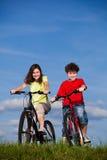 Ciclo de la muchacha y del muchacho Imagen de archivo