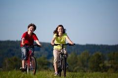 Ciclo de la muchacha y del muchacho Foto de archivo