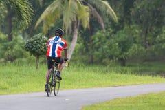 Ciclo de los deportes de las noticias Fotos de archivo libres de regalías