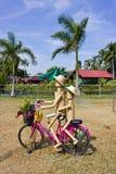 Ciclo de madera de las muñecas. Imagen de archivo libre de regalías