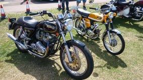 Ciclo de motor de Norton imagens de stock royalty free