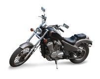 Ciclo de motor preto Foto de Stock Royalty Free