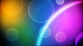 Ciclo dei cerchi di colore royalty illustrazione gratis