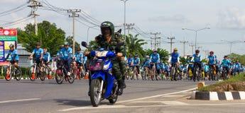 Ciclo dei soldati per la madre Fotografia Stock
