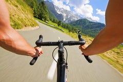 Ciclo del camino Fotografía de archivo libre de regalías