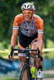 Ciclo del ciclista Immagine Stock