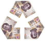 Ciclo del dinero Foto de archivo libre de regalías