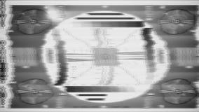 Ciclo del modello di prova della TV archivi video