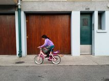Ciclo del niño foto de archivo libre de regalías