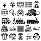 Ciclo dell'icona della maglietta illustrazione vettoriale