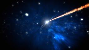 Ciclo della cometa royalty illustrazione gratis