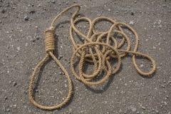 Ciclo della corda Fotografie Stock