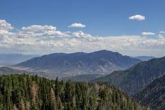 Ciclo di Nebo a luglio Fotografia Stock