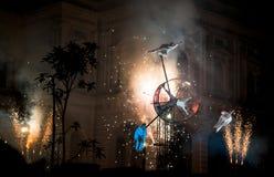 Ciclo di PAN.OPTIKUM di fortuna a Singapore Immagini Stock Libere da Diritti