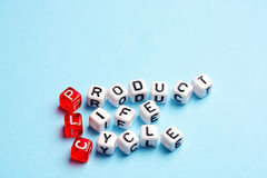 Ciclo di vita di prodotto dello SpA Fotografia Stock Libera da Diritti