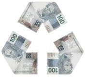 Ciclo do dinheiro Fotografia de Stock