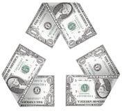 Ciclo do dinheiro Foto de Stock