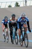 Ciclo en el velódromo de Calgary Imagen de archivo