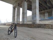 Ciclo en la ciudad Imagen de archivo