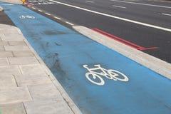 Ciclo en Londres fotografía de archivo