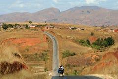 Ciclo en Madagascar imagen de archivo libre de regalías