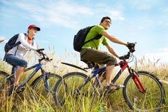 Ciclo en verano Foto de archivo