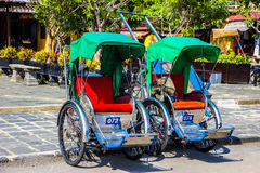Ciclo in Hoi An Immagine Stock Libera da Diritti